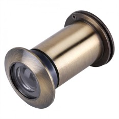 Wide Viewing Angle Peephole Door Viewer with Heavy Duty Privacy Cover Green Bronze - intl Philippines