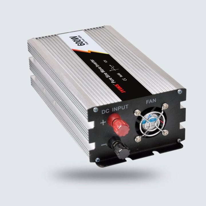 Y&H Pure Sine Wave Inverter 600W Off Grid Tie Inverter 12V-220V DC to AC