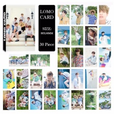 BTS 2017 SUMMER PACKAGE Album LOMO Cards New Fashion Self Made Paper Photo Card HD Photocard
