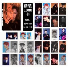EXO EX'ACT CHANYEOL Album LOMO Cards New Fashion Self Made Paper Photo Card HD