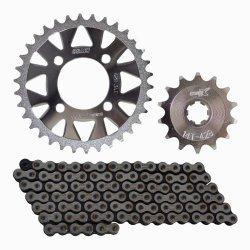 Osaki X-Lite 14-34X428X110 Chain Set