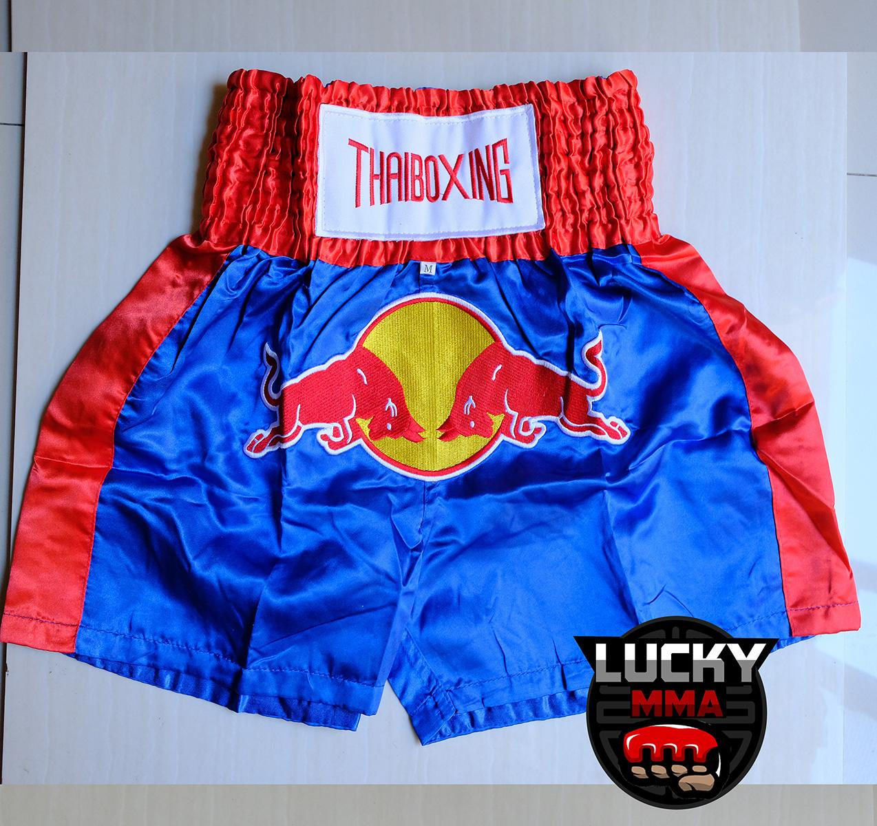 Thaiboxing Redbull Muay Thai Shorts Blue image