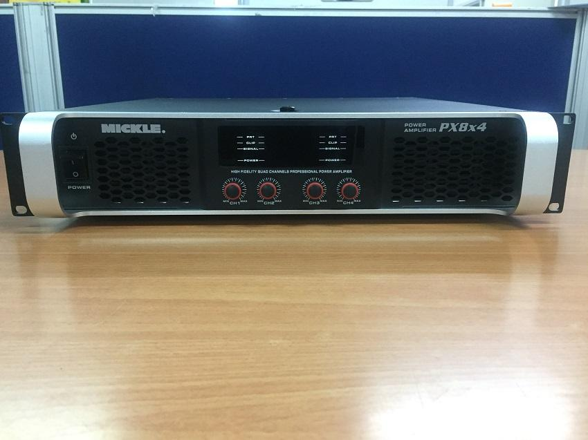 MICKLE PX8x4 PROFESSIONAL POWER AMPLIFIER