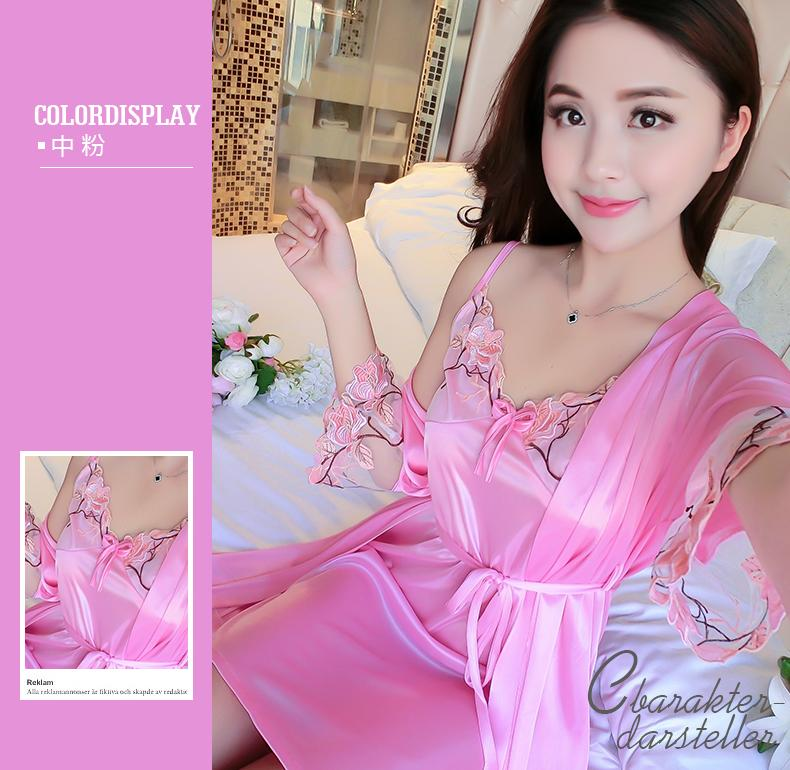 Robes Underwear & Sleepwears Cheap Sale Factory Direct Selling Green Chinese Men Satin Rayon Robe Print Kimono Bath Gown Summer New Casual Home Wear Male Nightwear Low Price