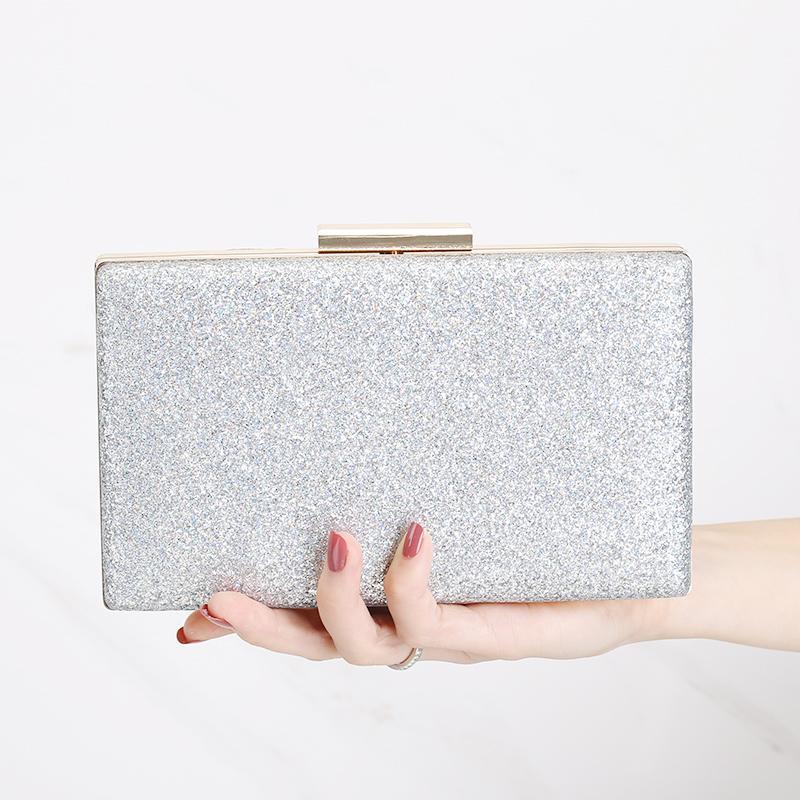 Handbag Female 2018 New Style Korean Style Cool Fashion yan hui bao Clutch Versatile Evening Dress Chain Dinner Small Bag