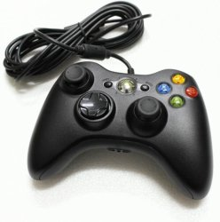 Microsoft Xbox 360 Wired Controller for Xbox 360 and PC (Black)