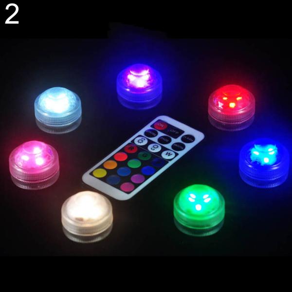 Đèn LED trang trí bể cá kiểng thay đổi màu sắc bằng điều khiển - INTL