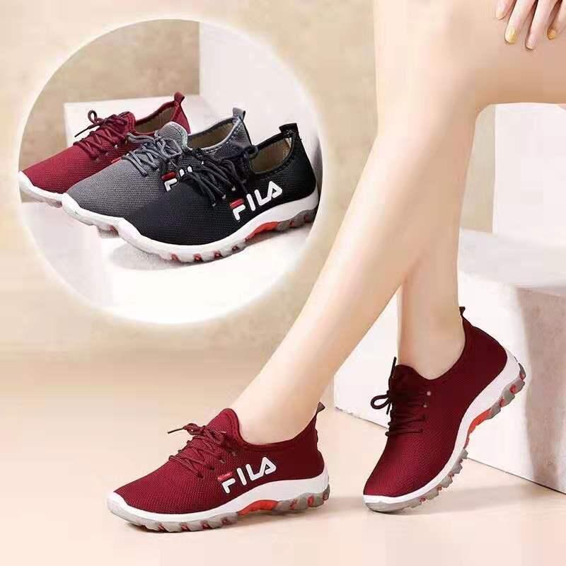 FILA korean rubber shoes for women
