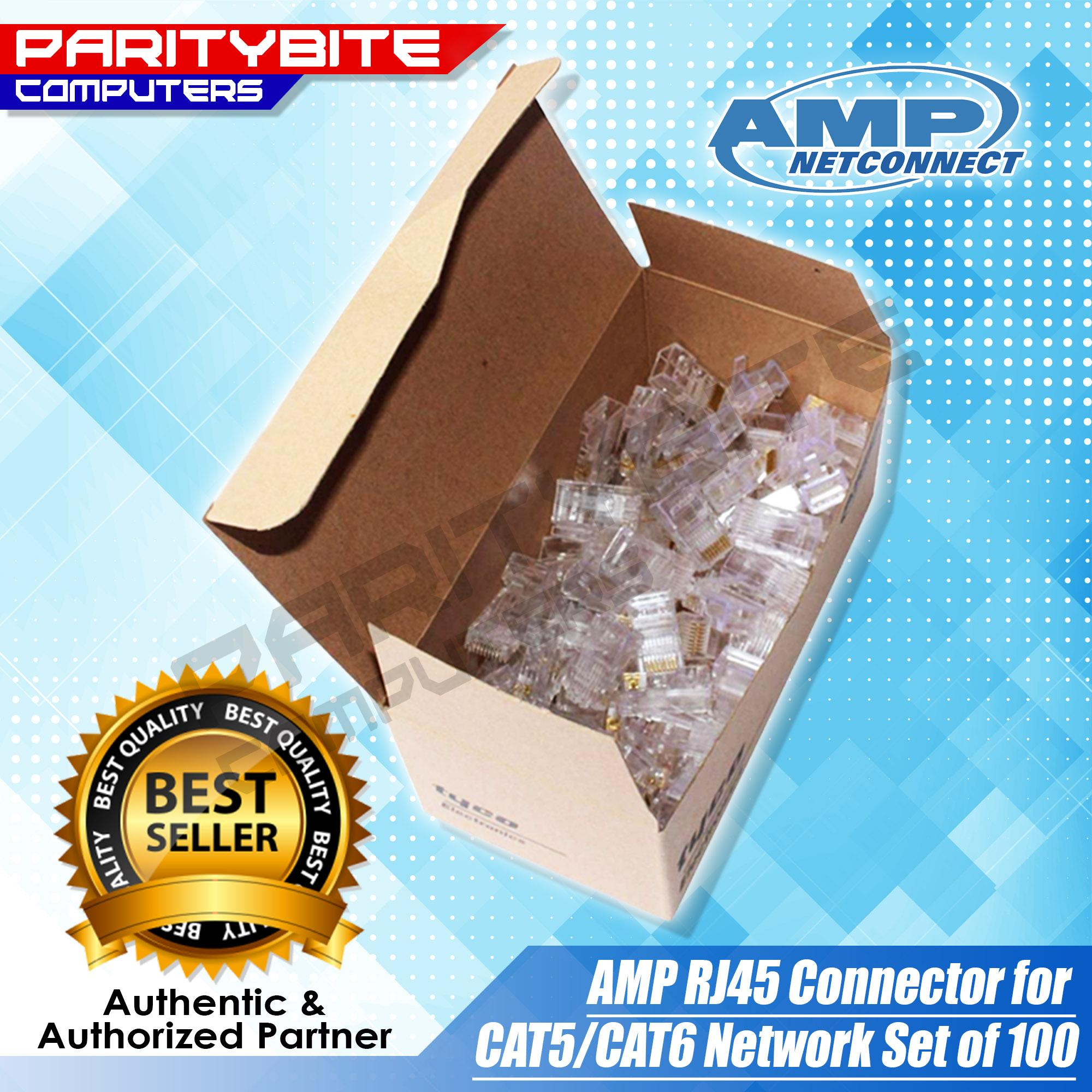Pc Cables For Sale Adapters Prices Brands Specs In Tips And Links On Making Good Rj45 Or Cat5 Cat6 Amp Connector Network Set Of 100