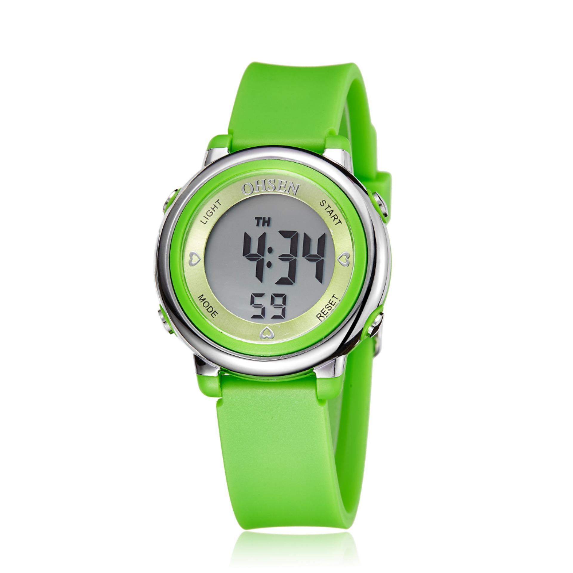 5d3d1ca24b4 Ohsen 1605 Multi-function Water Resistant Fashionable Sports Watch (Green)