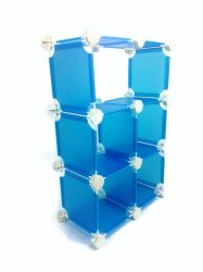 Creative Display Set of 24 (Blue and White)