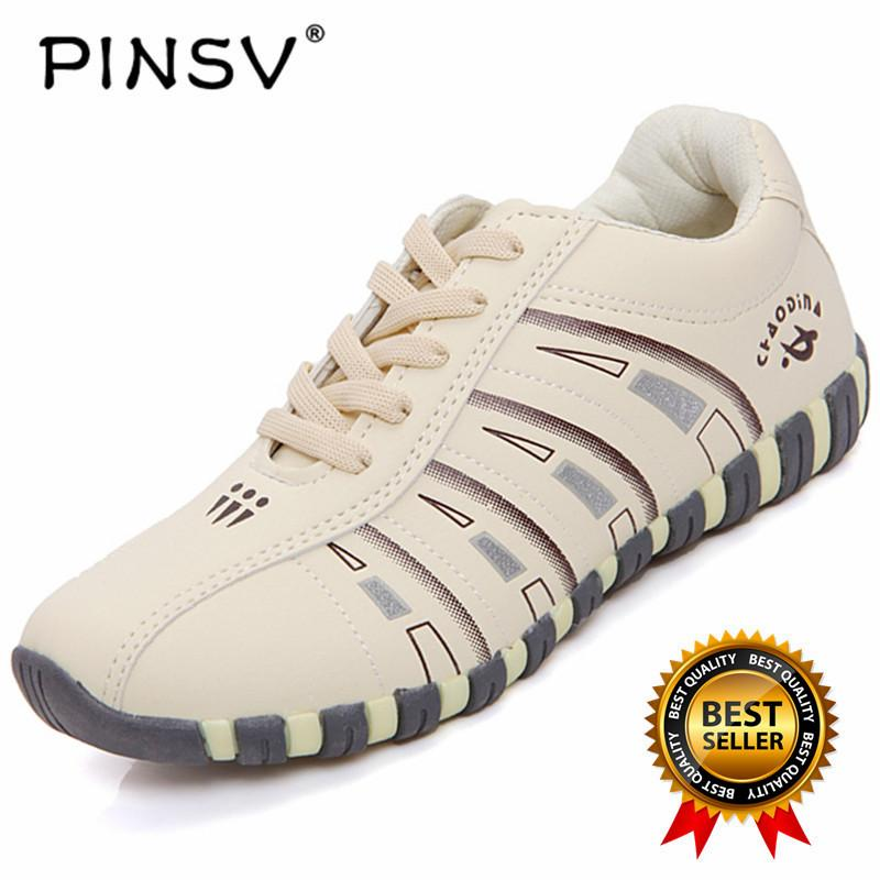 PINSV Women's Sport Shoes Badminton Shoes (White) - intl
