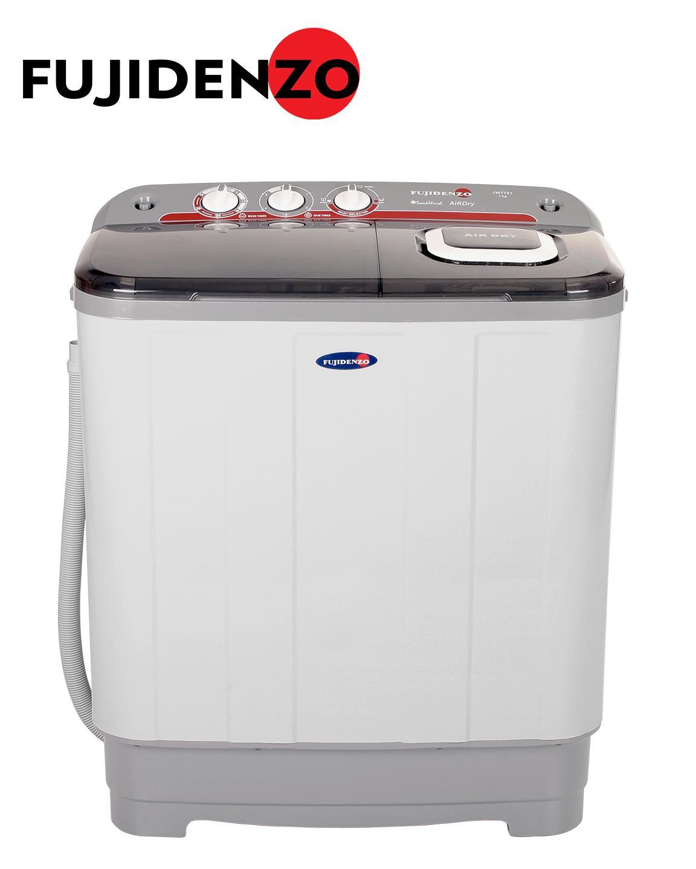 Fujidenzo 7 0 Kg Eco-Soak Wash Cycle Twin Tub JWT-701 (White)