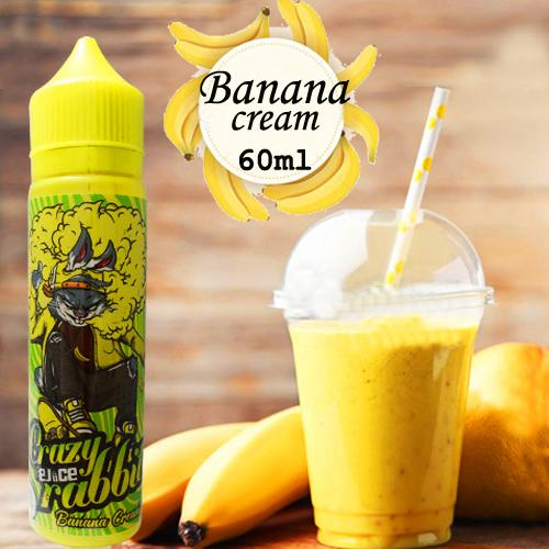 Premium Smok 3MG E-Cigarette Kits Accessories E-Juice,Vape Juice,E-Liquid A33 Crazy Rabbit Banana Cream  60ml