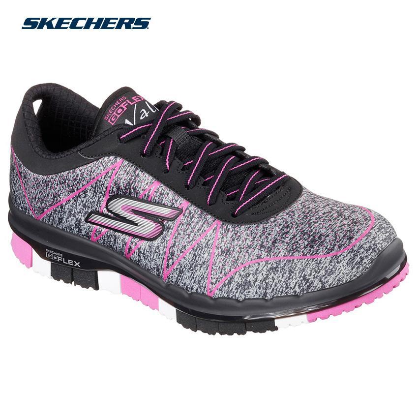 6dfcc46206 Skechers Women Go Flex - Ability Shape-Ups Footwear 14011-BKHP (Black Hot