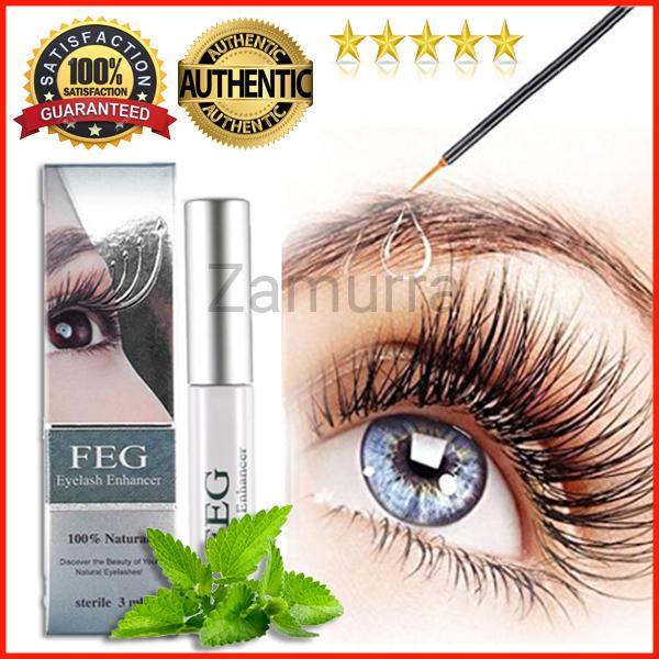 Authentic Original FEG Eyelash Enhancer Grower Rapid Growth Serum Liquid  100% Natural 3ml