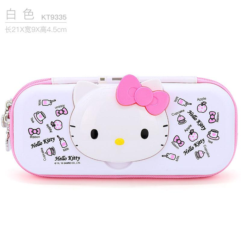 7a52a208b Hello Kitty Children Pencil Case Girls Young Student's Large Capacity  Pencil-Box Little Girl Cute