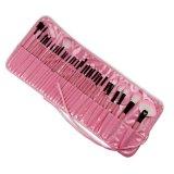 32-Piece Make-up Brush Set (Pink) - thumbnail 1