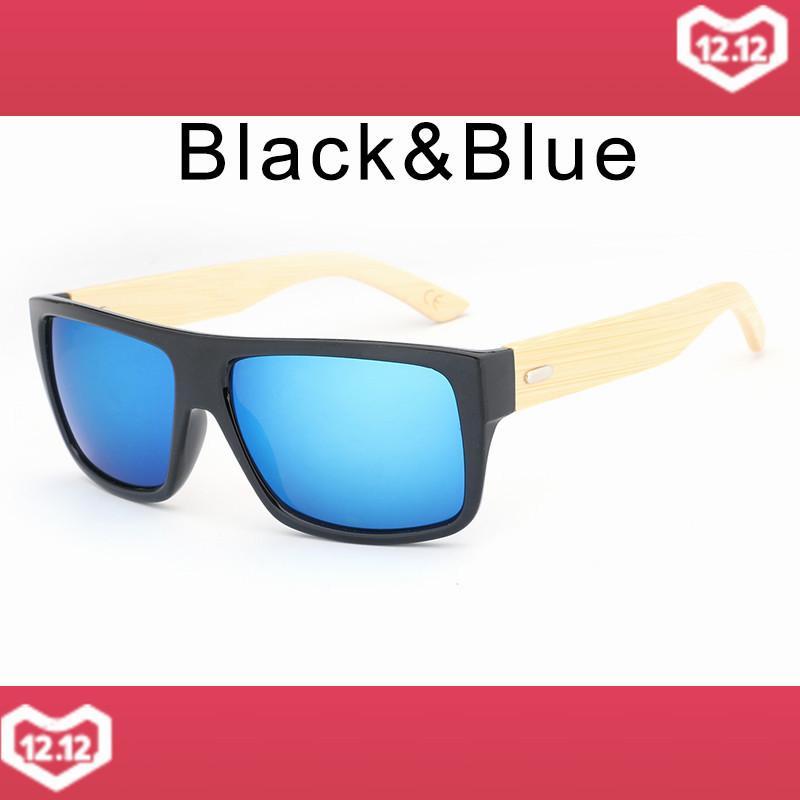 52646d3eaf7 HDCRAFTER 2017 Retro Wood Sunglasses Men Bamboo Sunglass for Women Brand  Designer Anti UV Goggles Mirror