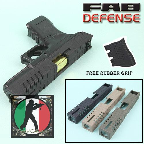 Tactic Skin for G17 with Free Tactical Rubber Grip
