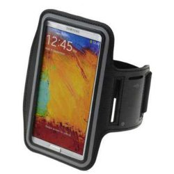 Runner's Armband for Samsung Galaxy Note 2 and 3 (Black)