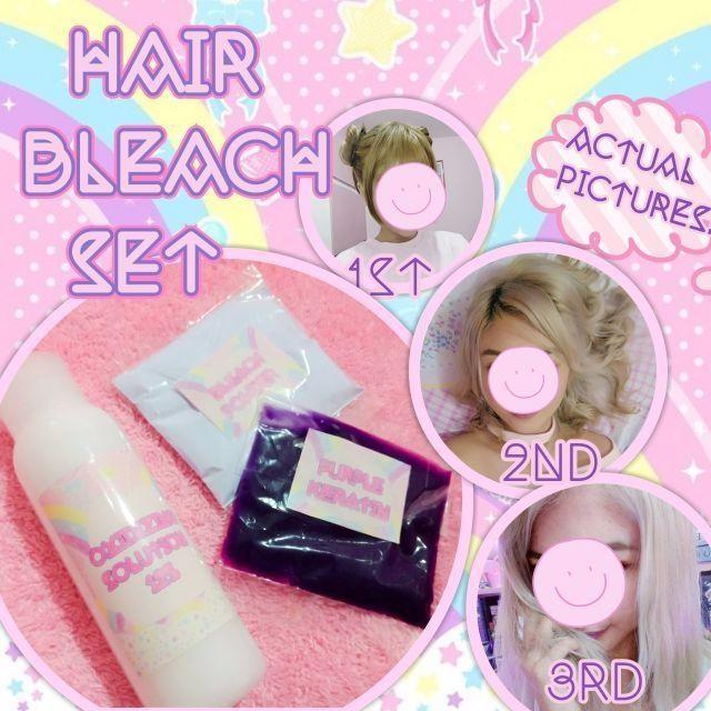 Hair Bleach Set By Aeressentials.