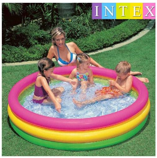Intex Inflatable Pool Kiddie Pool Circular Swimming Pool Outdoor Pool Play Pool Floaties Pool Floater Inflatable Floater By I Style.