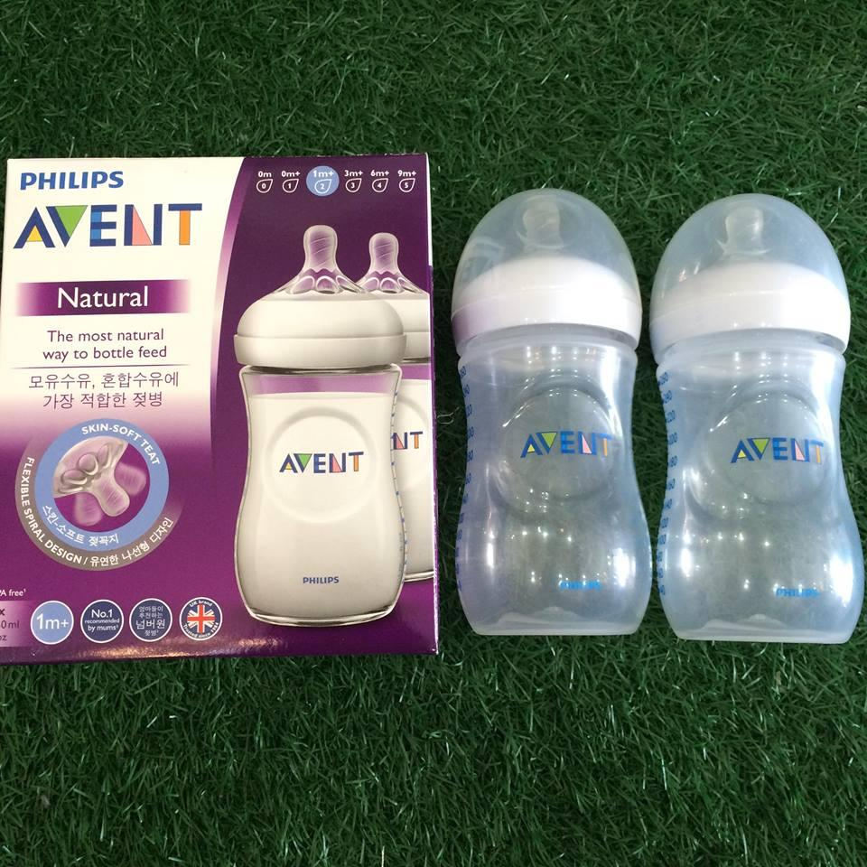 Philips Avent Natural 260ml 9oz 2pack Feeding Bottles By Sunday Gears.