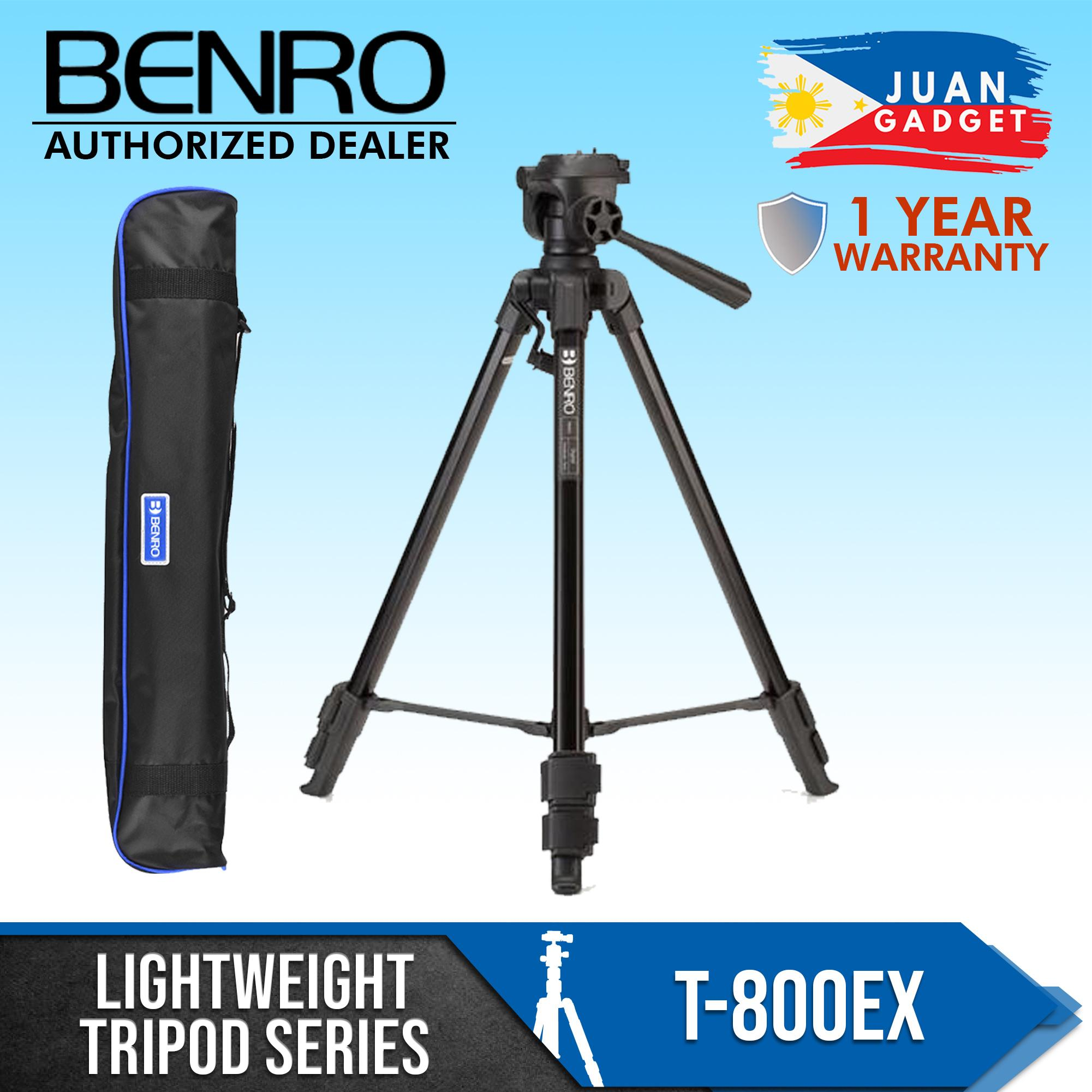 Benro T-800EX Tripod Kit Lightweight Series for DSLR 1 Year Warranty T800EX