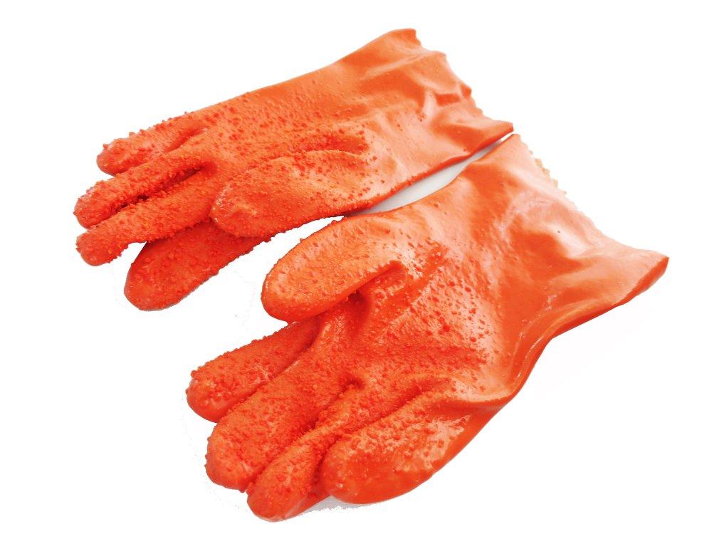 Tater Mitts Quick Peeling Gloves (Orange)