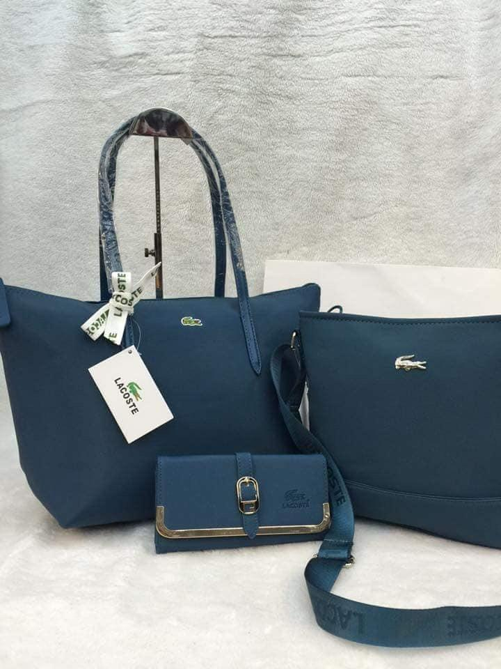 5462f2414e SALE SALE SALE Lacoste 3in1 Tote Bag Assorted Wallet Pag Wla ug nsa Post