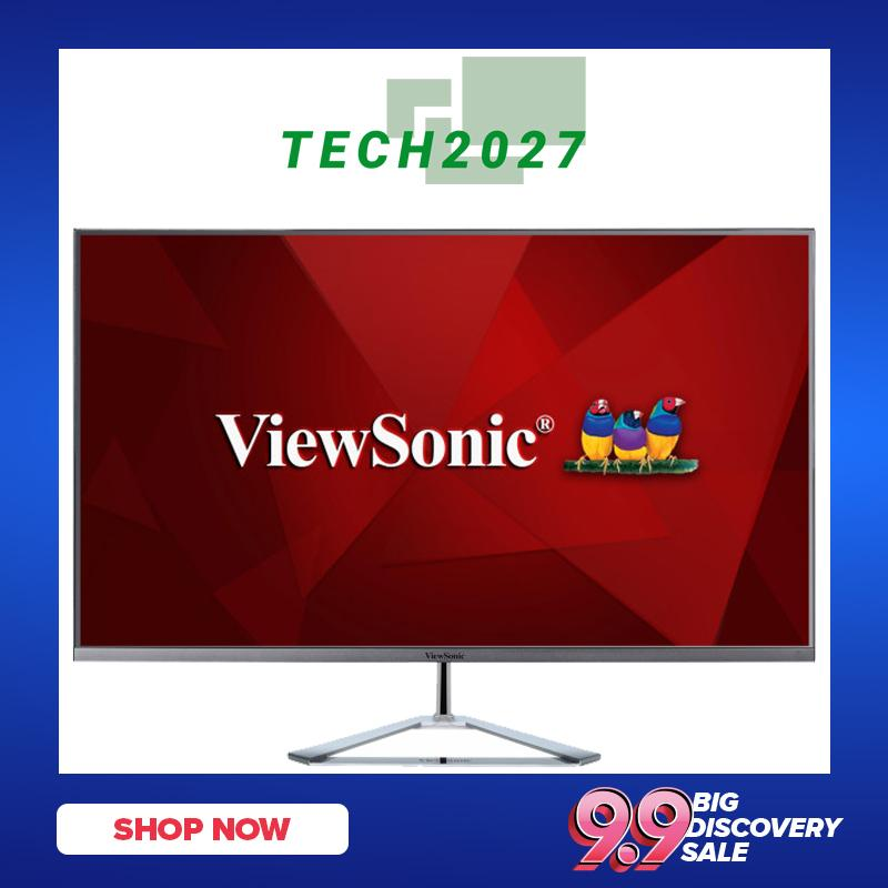 ViewSonic VX3276-2K-MHD 32 Inch Frameless Widescreen IPS 1440p Monitor with  HDMI DisplayPort and Mini DisplayPort