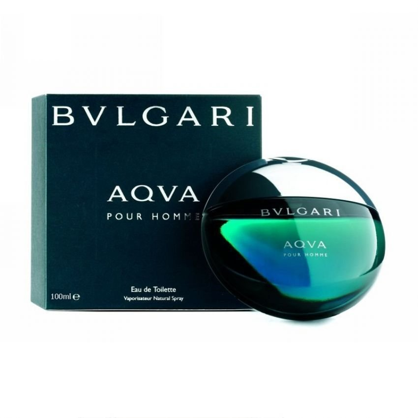 Bvlgari Aqva (Aqua) Eau De Toilette for Men 100ml