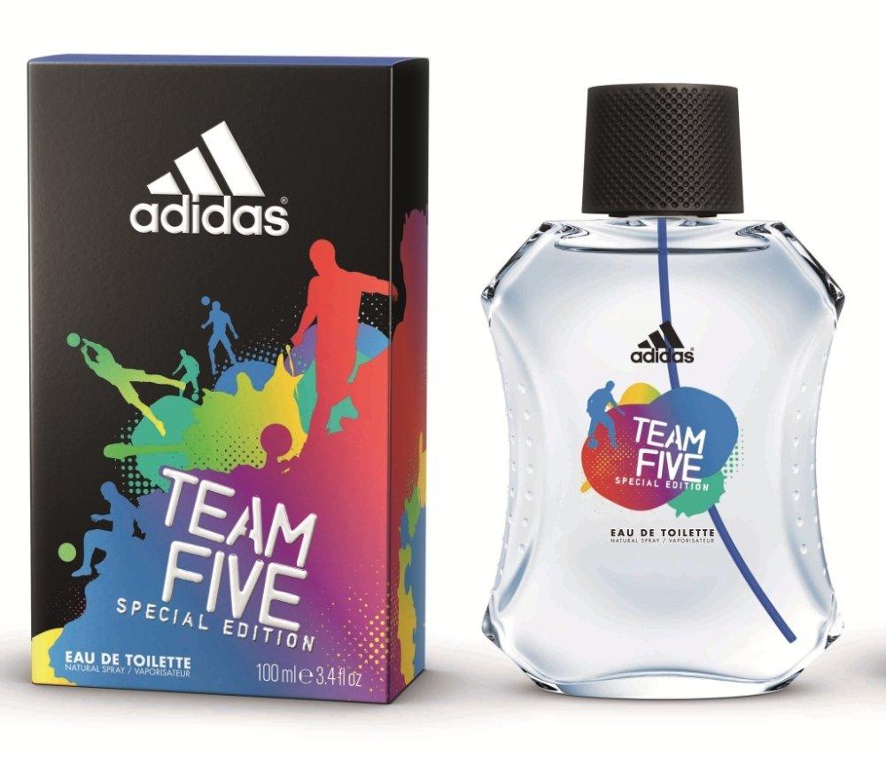 Adidas Team Five Special Edition Eau De Toilette Perfume for Men 100ml