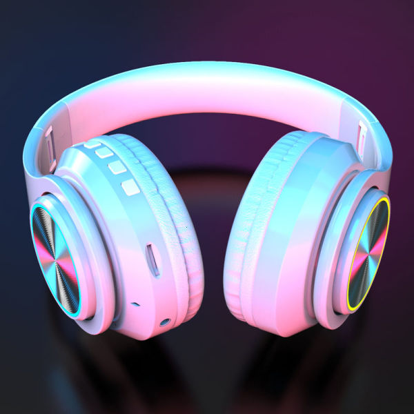 Shadow giant Bluetooth headset headset wireless cool luminous music high quality earmuff ear muff comfortable sound insulation noise reduction suitable for Apple millet oppo mobile phone universal men and women VN16 Singapore
