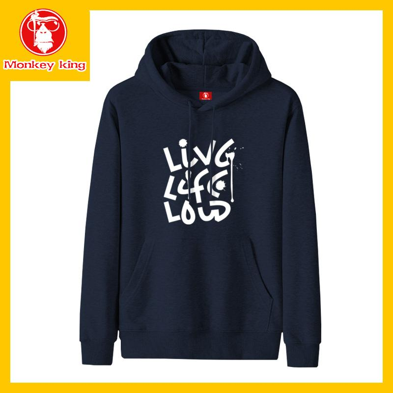 9e027e7fe60e [Monkey King] Hoodie Pullover Sweatshirts for Mens Unisex on sale With Hood  Korean Fashion