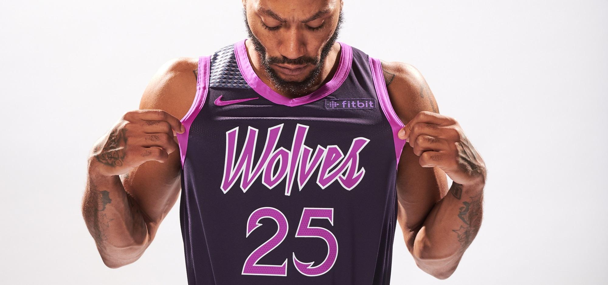 newest 4aa59 dc4e6 Derrick Rose White Swingman Jersey - Minnesota Timber-wolves #25 Earned  Edition