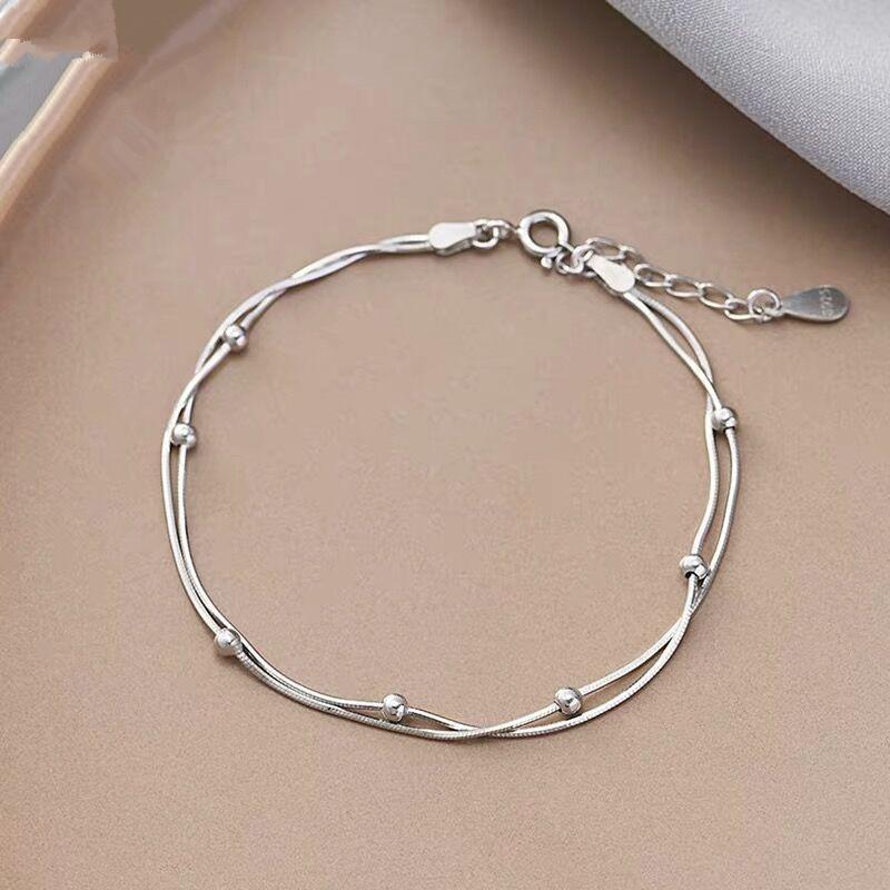 c46b5c95b4f7c Omiga S925 Sliver Snake Bone Bracelet For women Cartier Bangles 2019 Korean  New Fashion ladies bracelets