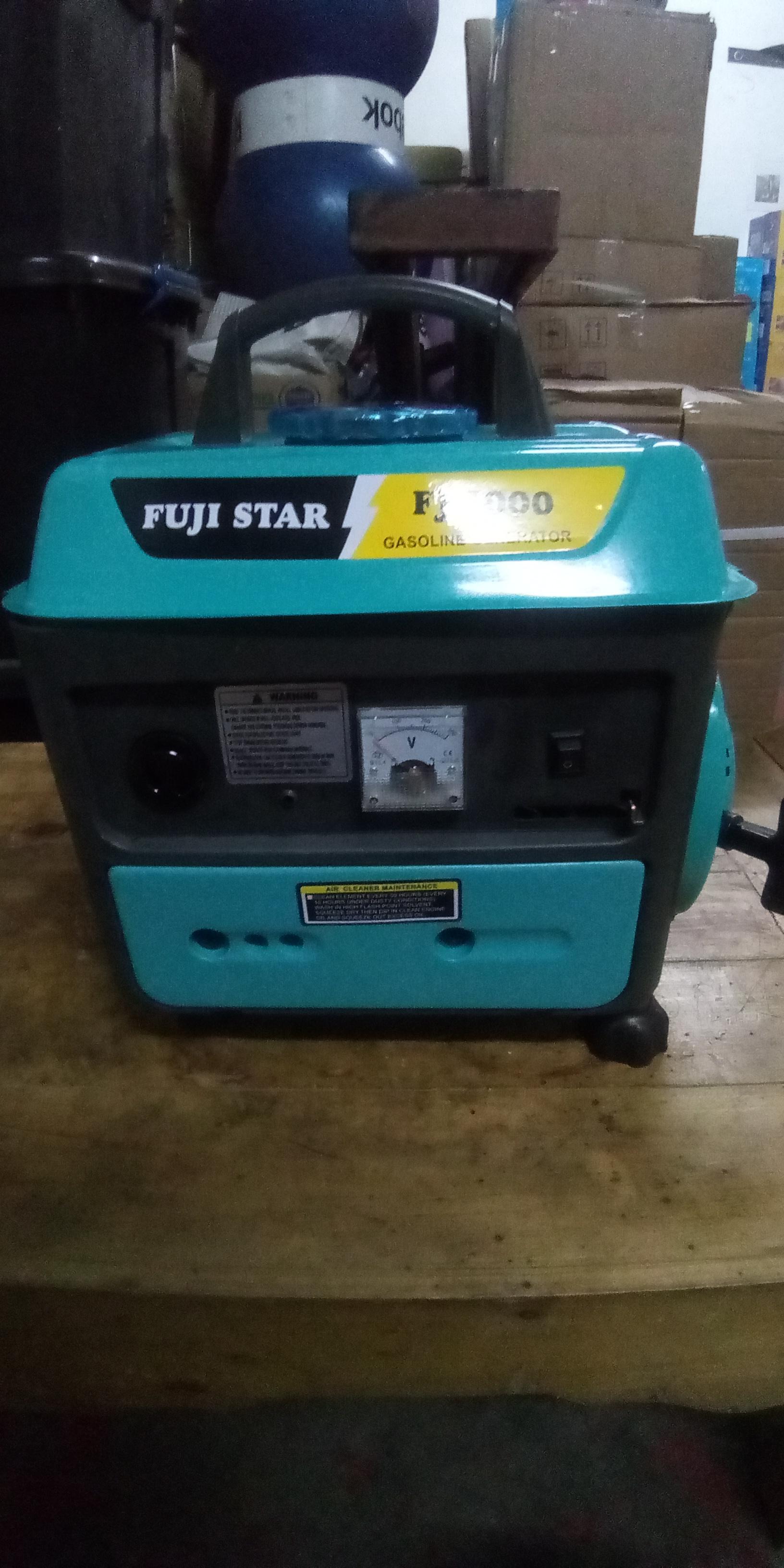 Fuji Star FJ-1000 Gasoline Generator (100% Copper)