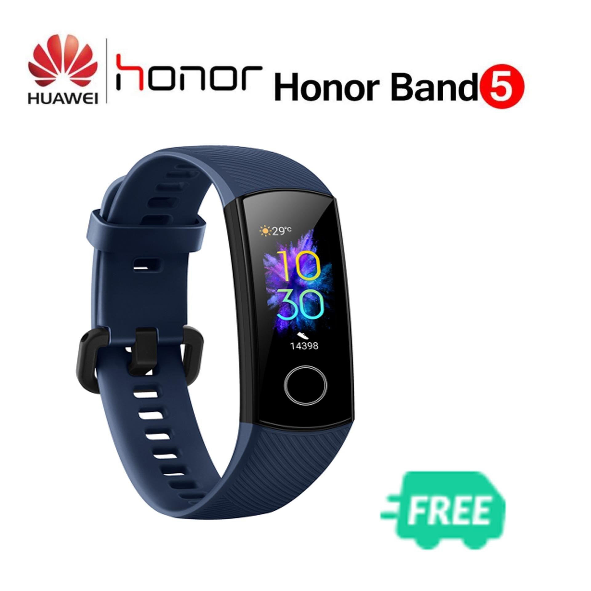 (Free Shipping Fee+Free gift) Original Honor Band 5 Fitness Smart Bracelet