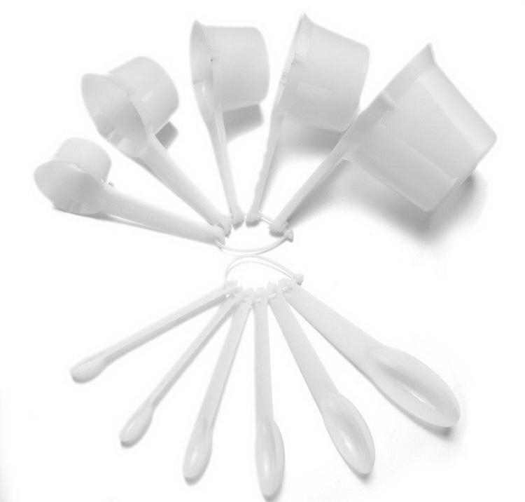 Set Of 11 Pcs Measuring Cups And Spoon By Acrazyshop.