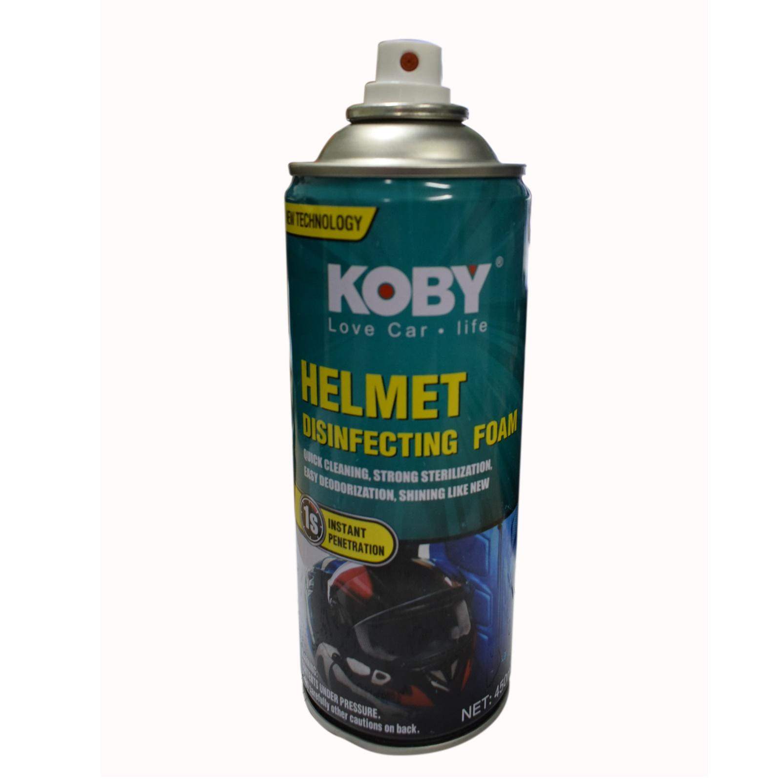 Koby Helmet Disinfecting Foam . By Guru Mehar.