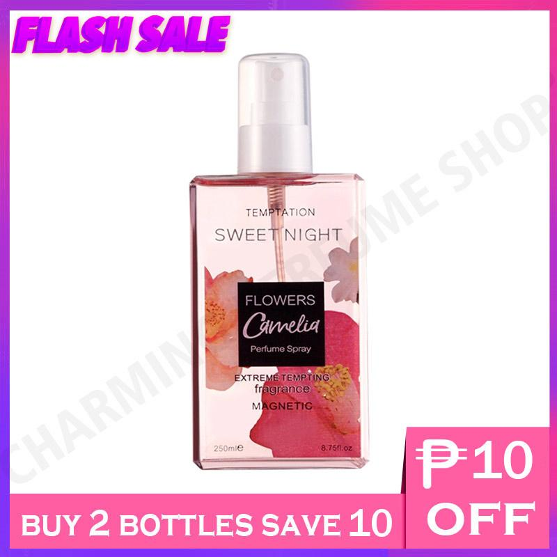 e6f77bb4cced Charming Perfume Shop Sweet Night Camelia Tempatation Magnetic Perfume  Spray 250ml