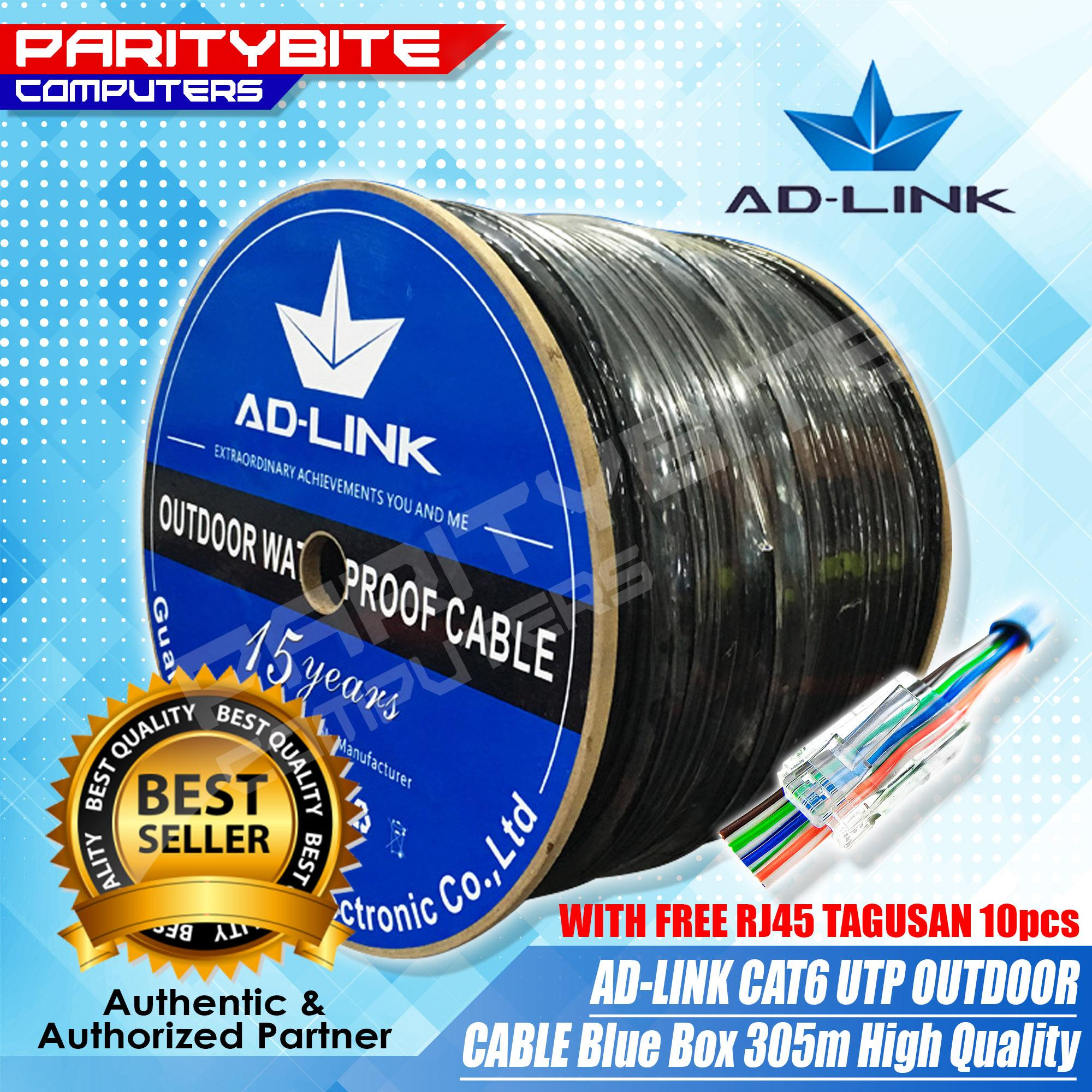 Ethernet Cable For Sale Etherner Adapters Prices Brands Specs Diy Wiring Ad Link Cat6 Outdoor Utp 305m High Quality