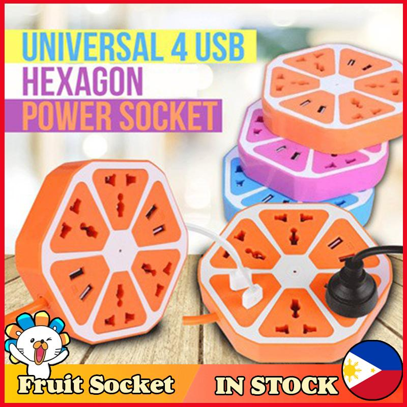 Hexagonal Extension Cord With Usb Port Electric Outlet Extension Cord Extension Cord Power Extension Cord Extension Cord Heavy Duty Extension Outlet Power Outlet Power Outlet With Usb Outlet With Usb Extention Outlet Multiple Usb Charger By Suanti05.