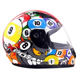 XPOT Billiards Adult Helmet (Multicolored)