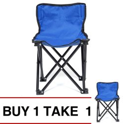 Foldable Chair Small (Royal Blue) Buy 1 Take 1