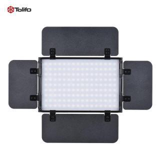 Tấm đèn led 15w bằng hợp kim nhôm siêu mỏng có thể điều chỉnh độ sáng 3200k - 5600k với màn hình LCD 4 cánh điều khiển từ xa không dây 2.4g hỗ trợ chụp ảnh Tolifo PT-15B PRO II thumbnail