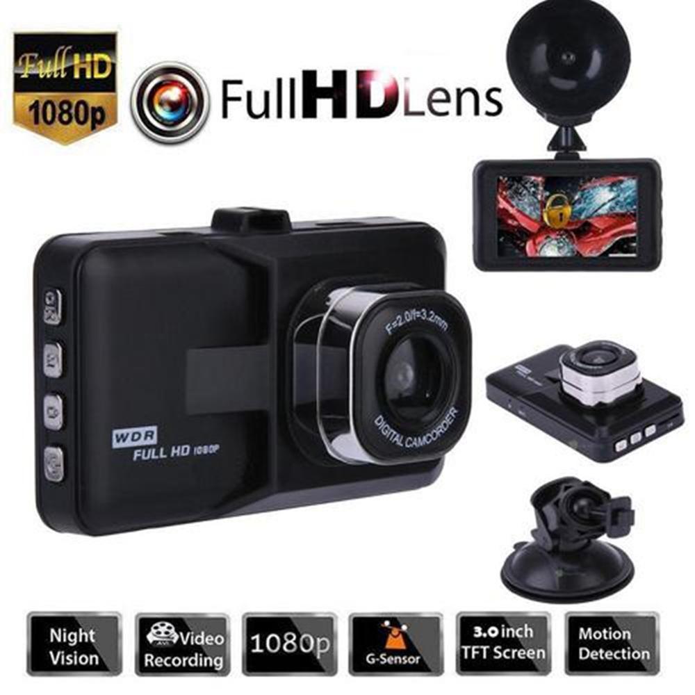 1080P HD Car DVR Dash Vehicle Camera Video Driving Recorder Cam Night Vision