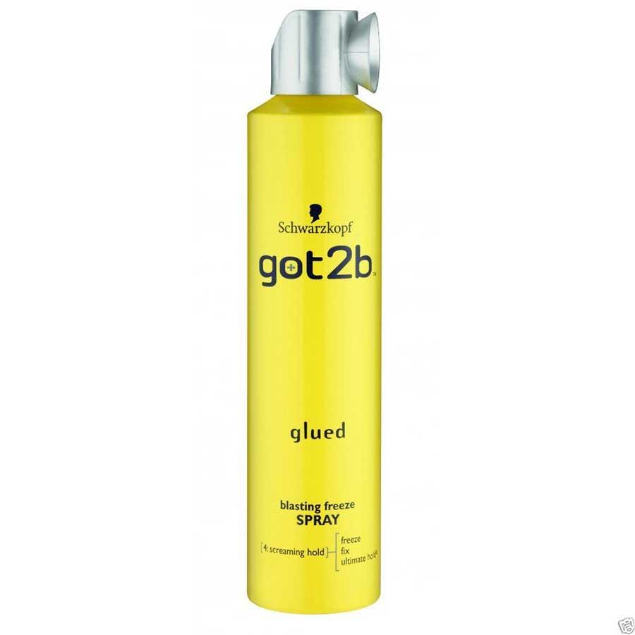 Schwarzkopf Got2B Glued  Blasting Freeze Spray 300ml image